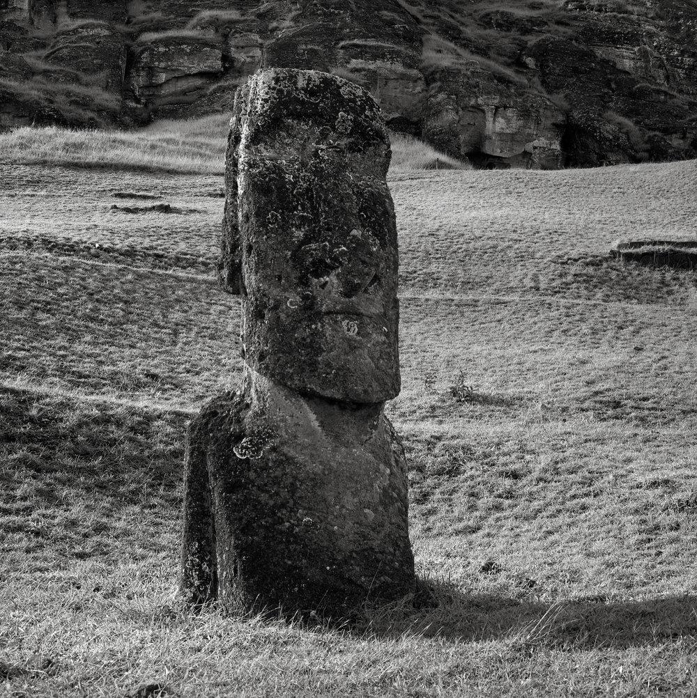 Moai, Rano Raraku, Easter Island