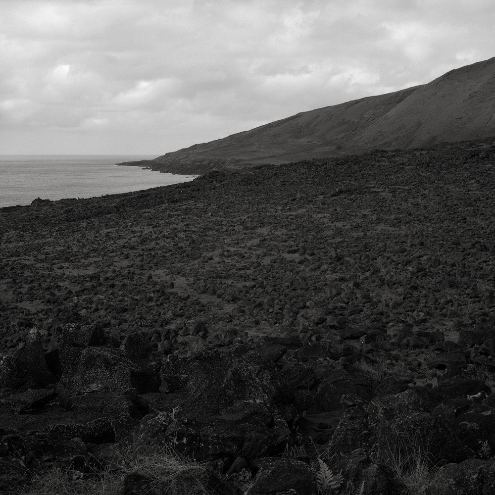 Along the North Coast, Easter Island