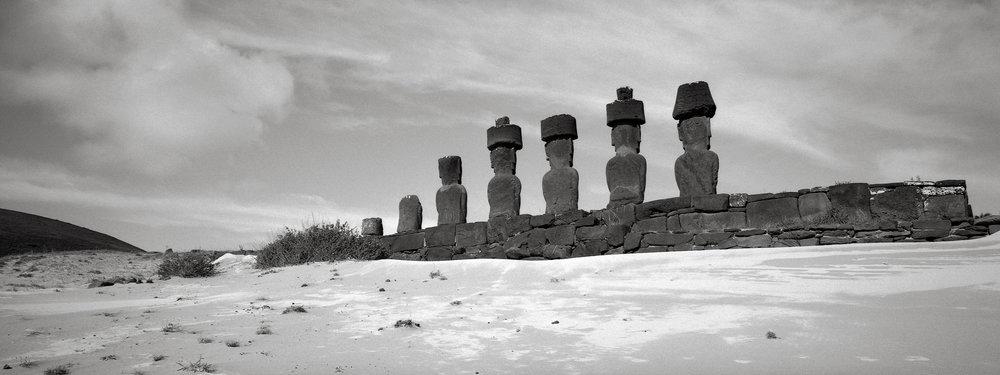 Ahu Nau Nau, Anakena Beach, Easter Island