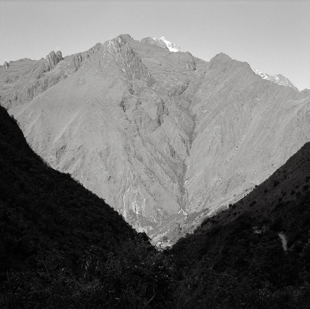 Salkantay from the Valley of Llulluchapampa, Peru