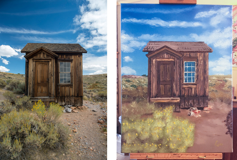 My third attempt - photo taken at Bodie State Historic Park in California