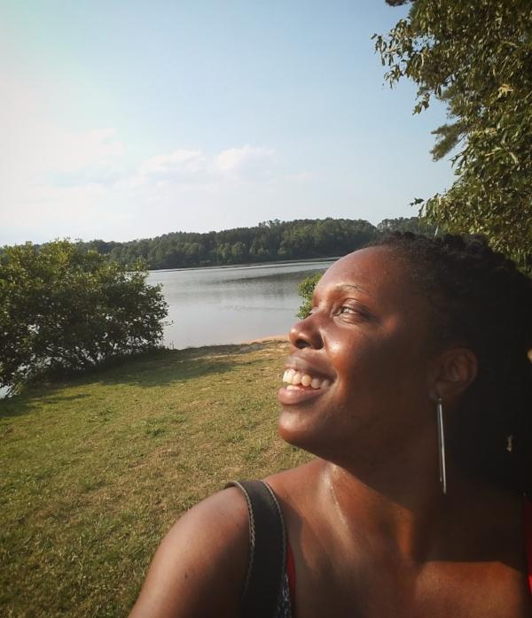 Selfie in the Georgia sun