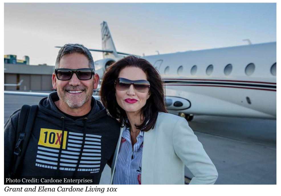 "Love and Entrepreneurship, Part 3: Grant And Elena Cardone 10x Is Inclusion Over Balance - Modern day power couple and stars of the G&E show Grant and Elena Cardone share their tips on the ""business of marriage"" in their weekly episodes."