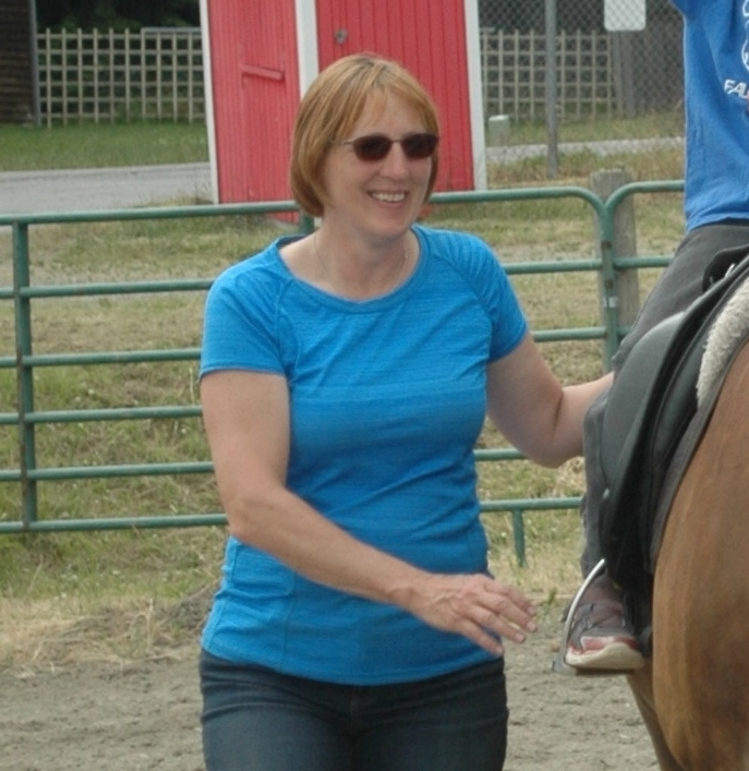 Karen is one of our PATH-certified instructors and kindly donates her horse Tikki for our sessions.