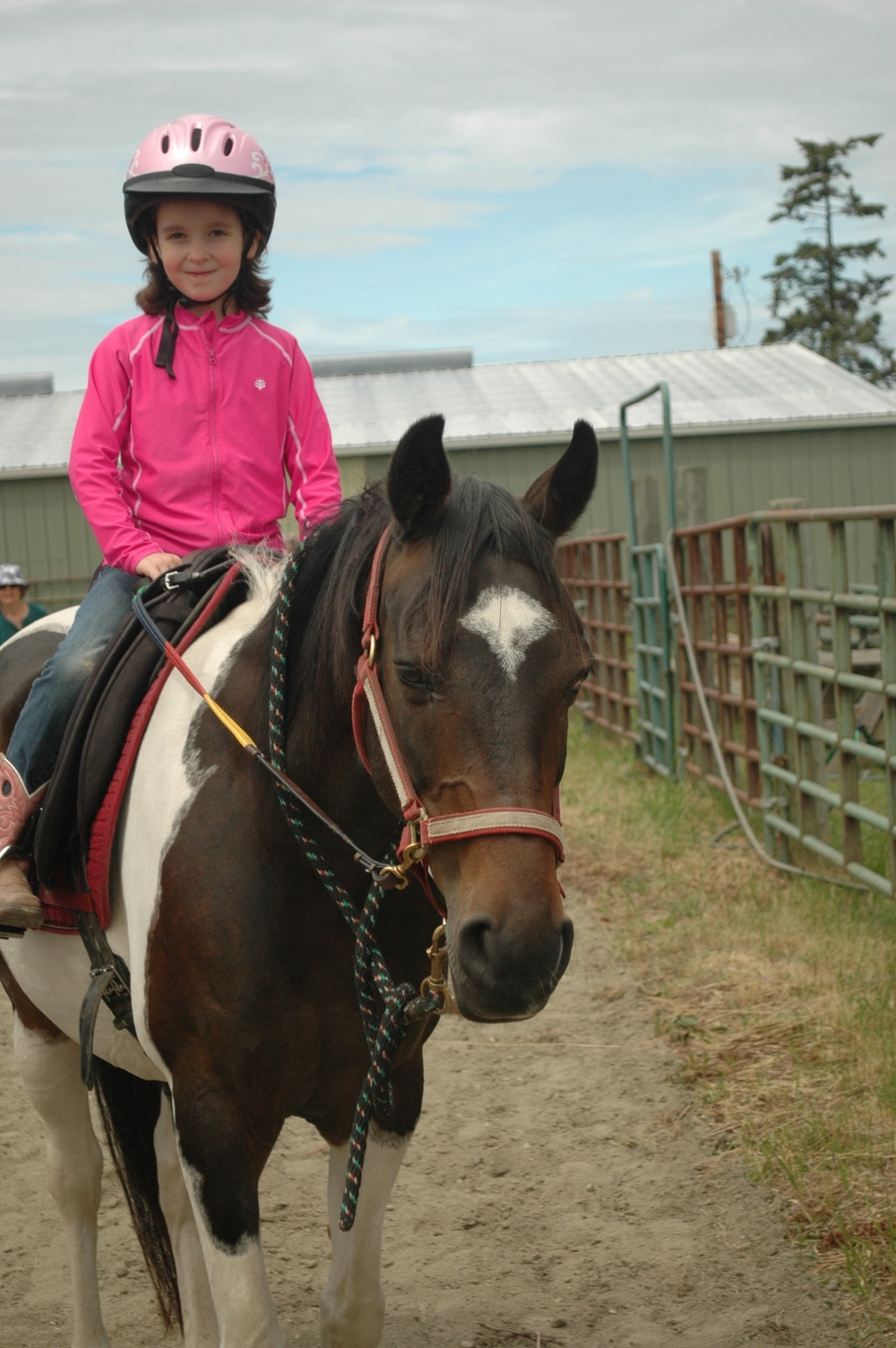 Here's Willow with her new best friend Ava. Willow is taken care of by our board member Karen and her husband Glenn.
