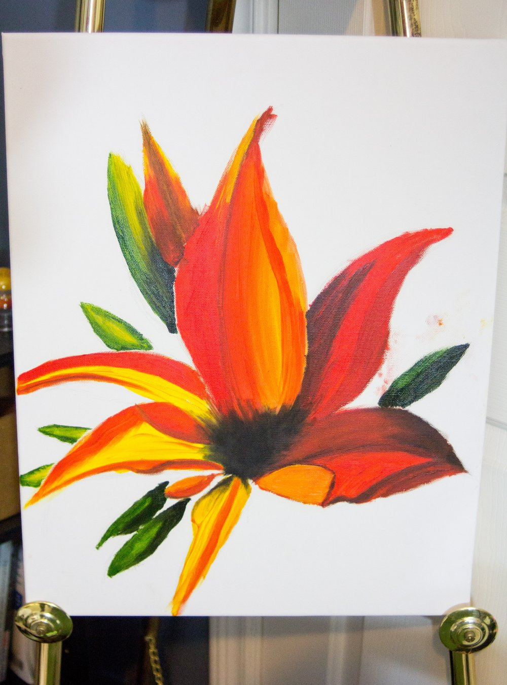 Lily I'm working on for a little while. They are my favorite flower!  Oil on canvas