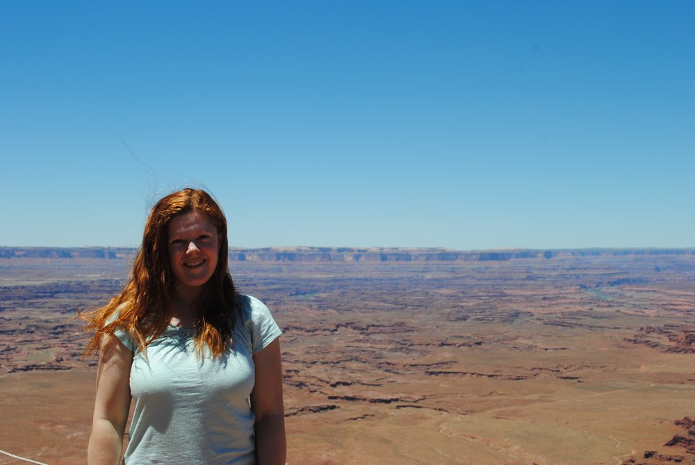 Melissa at Canyonlands National Park ca: 2014