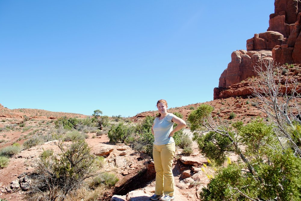Melissa at Arches National Park ca: 2014
