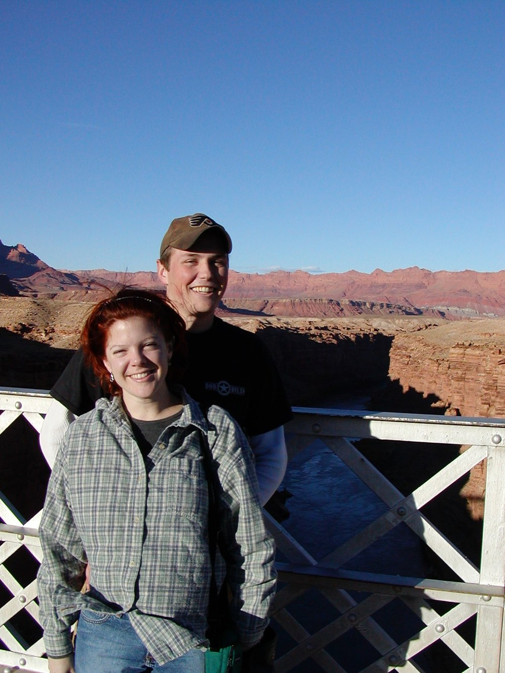 Melissa and George at Marble Canyon ca: 2001