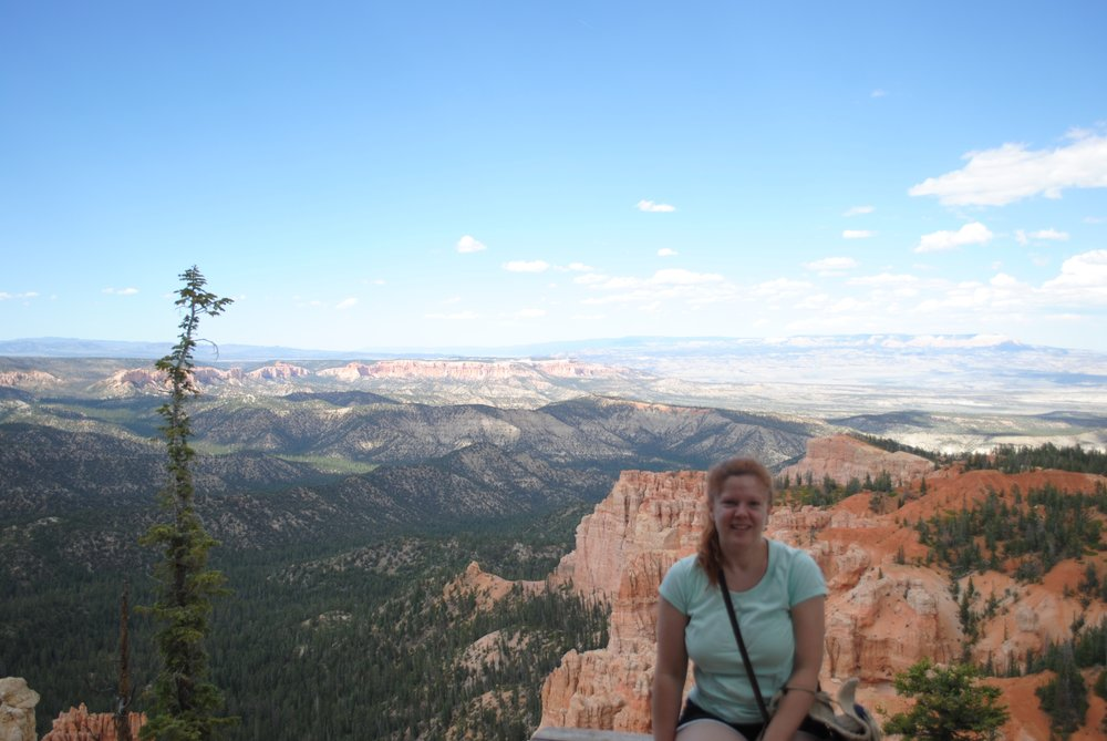 Melissa at Bryce Canyon National Park ca: 2014