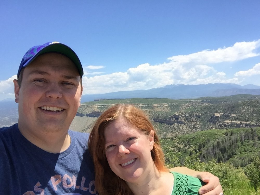 Melissa and George at Mesa Verde National Park ca: 2015