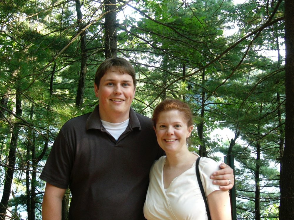 Melissa and George at Walden Pond ca: 2007