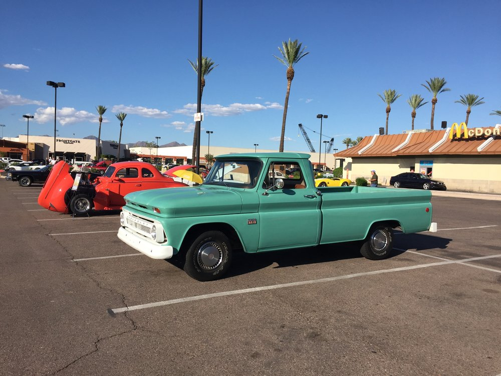Car #20 - a 1966 Chevy C10 1/2 ton truck with 80,000 original miles