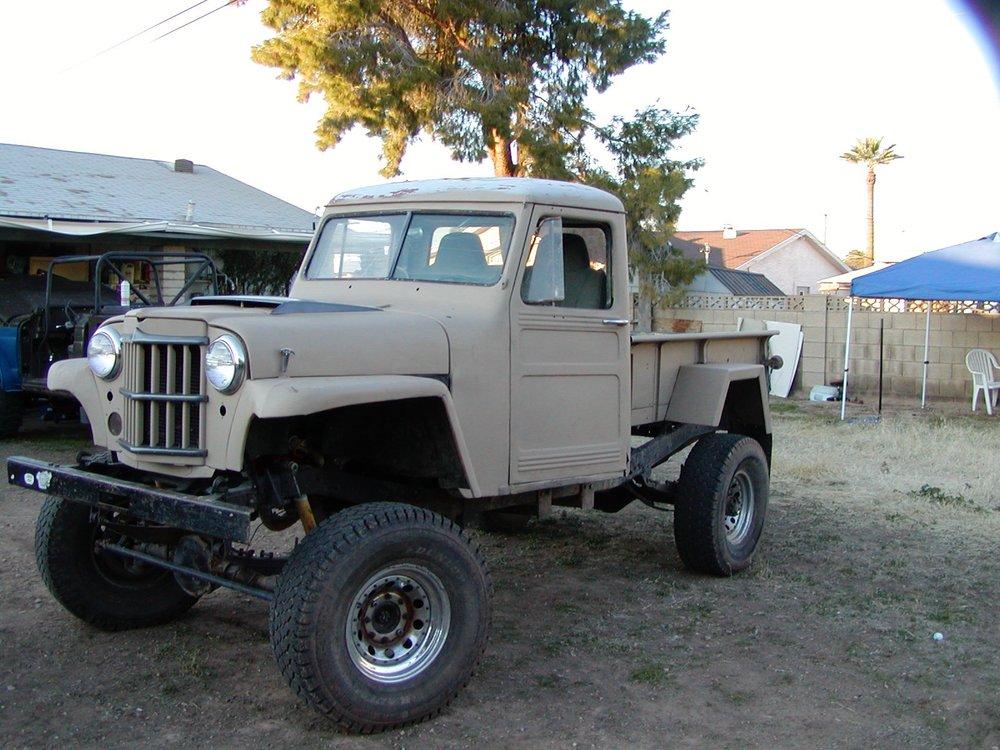 Gravedigger - a 1960 Willys Truck...