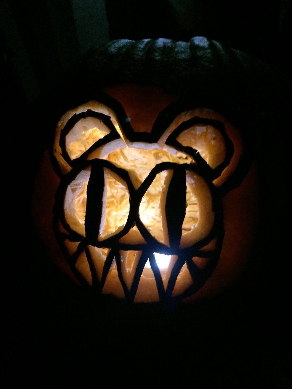 Howling Wolf Pumpkin Carving Pattern Www Topsimages Com