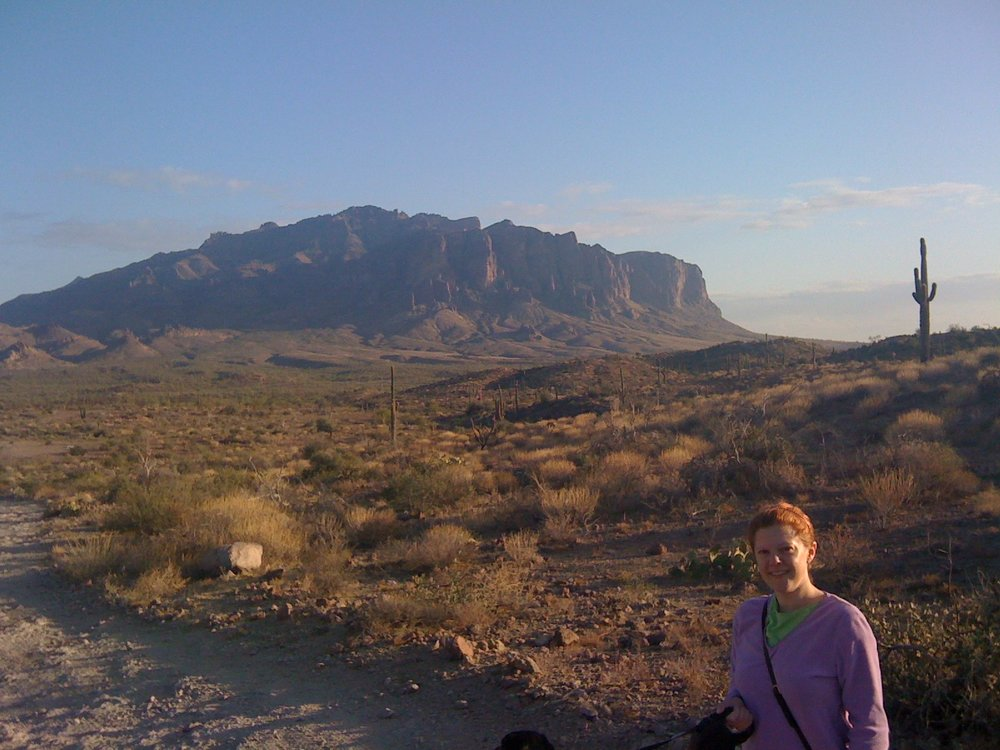 Melly in the Superstitions, 2009.