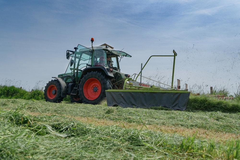 Boeren aan het werk -