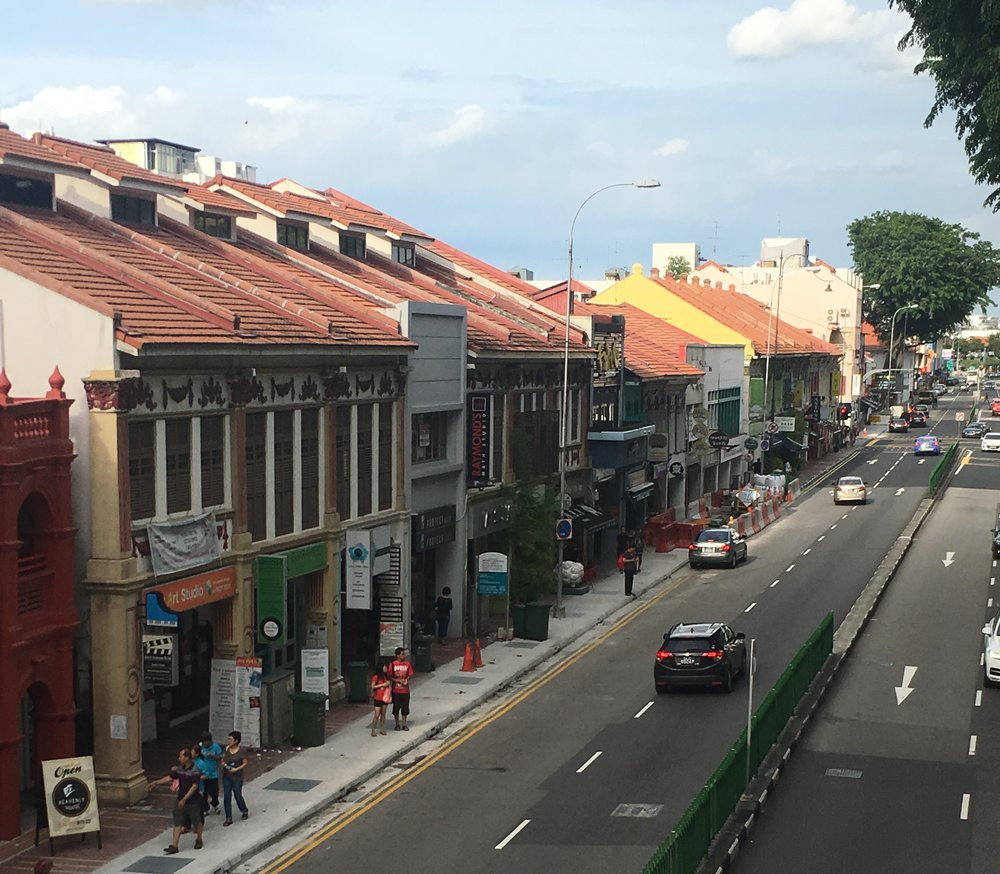 A view over Katong