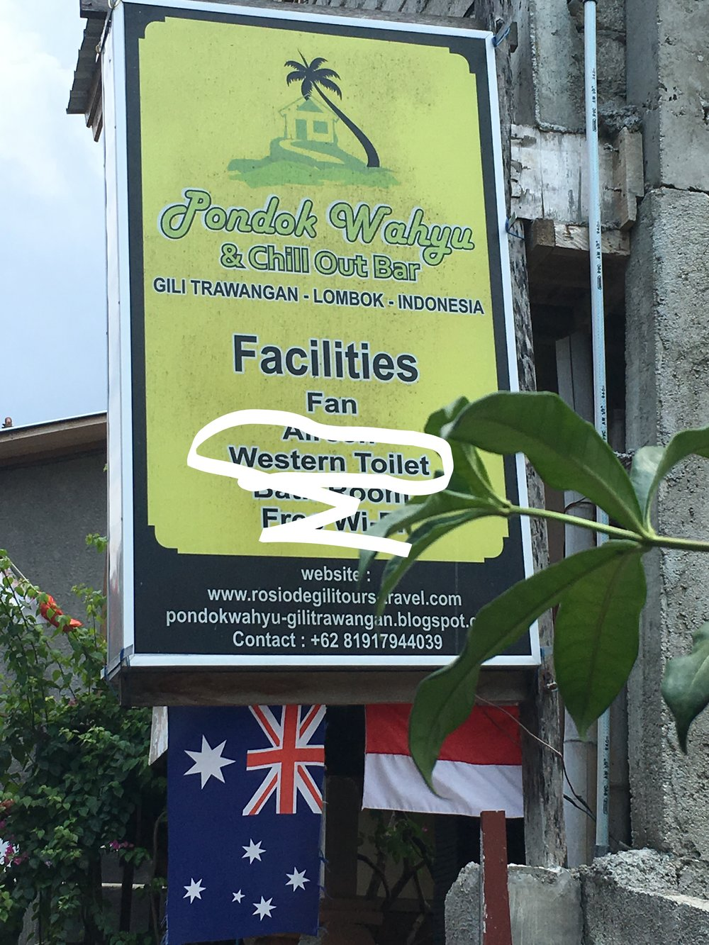 """uhhhhh....what's a 'western toilet' I wondered. I would soon find out."