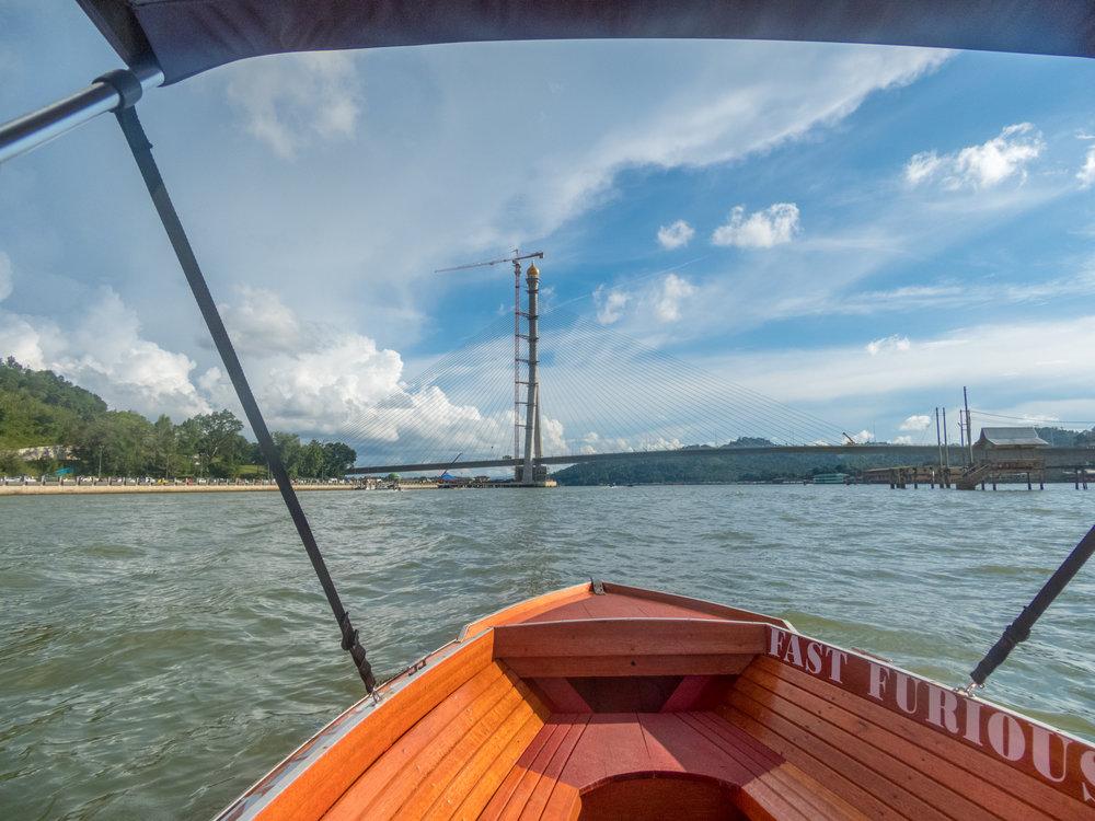 Here's a new suspesion bridge