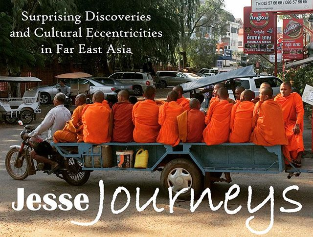 "Check out my latest blog ""Surprising Discoveries and Culture Eccentricities in Far East Asia"", a compilation of my observations through 11 countries. #culture . www.jessejourneys.com"