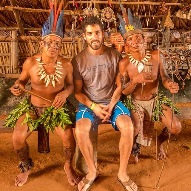 #TBT to getting tribal in the #Amazon!