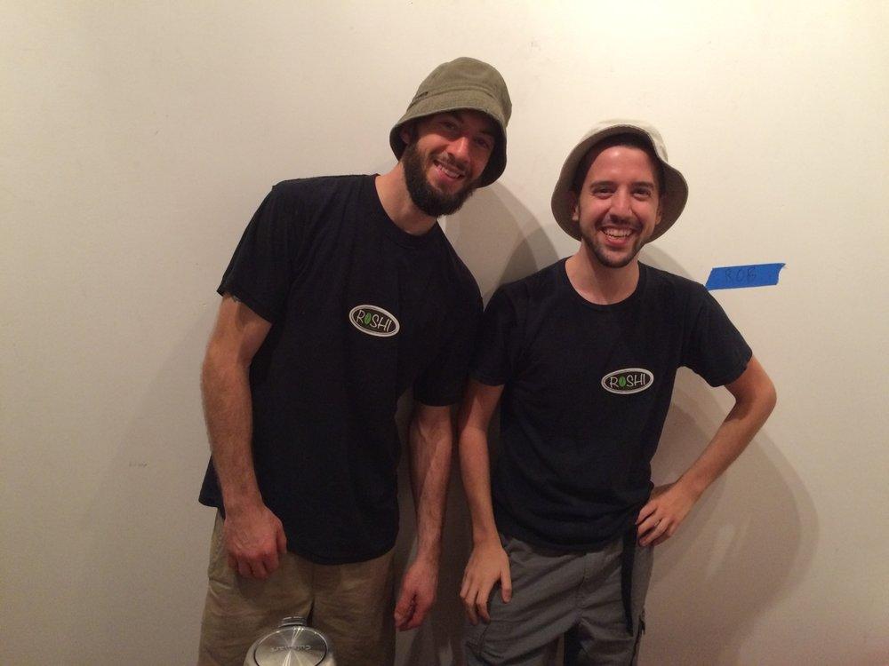 Rob and Jeff