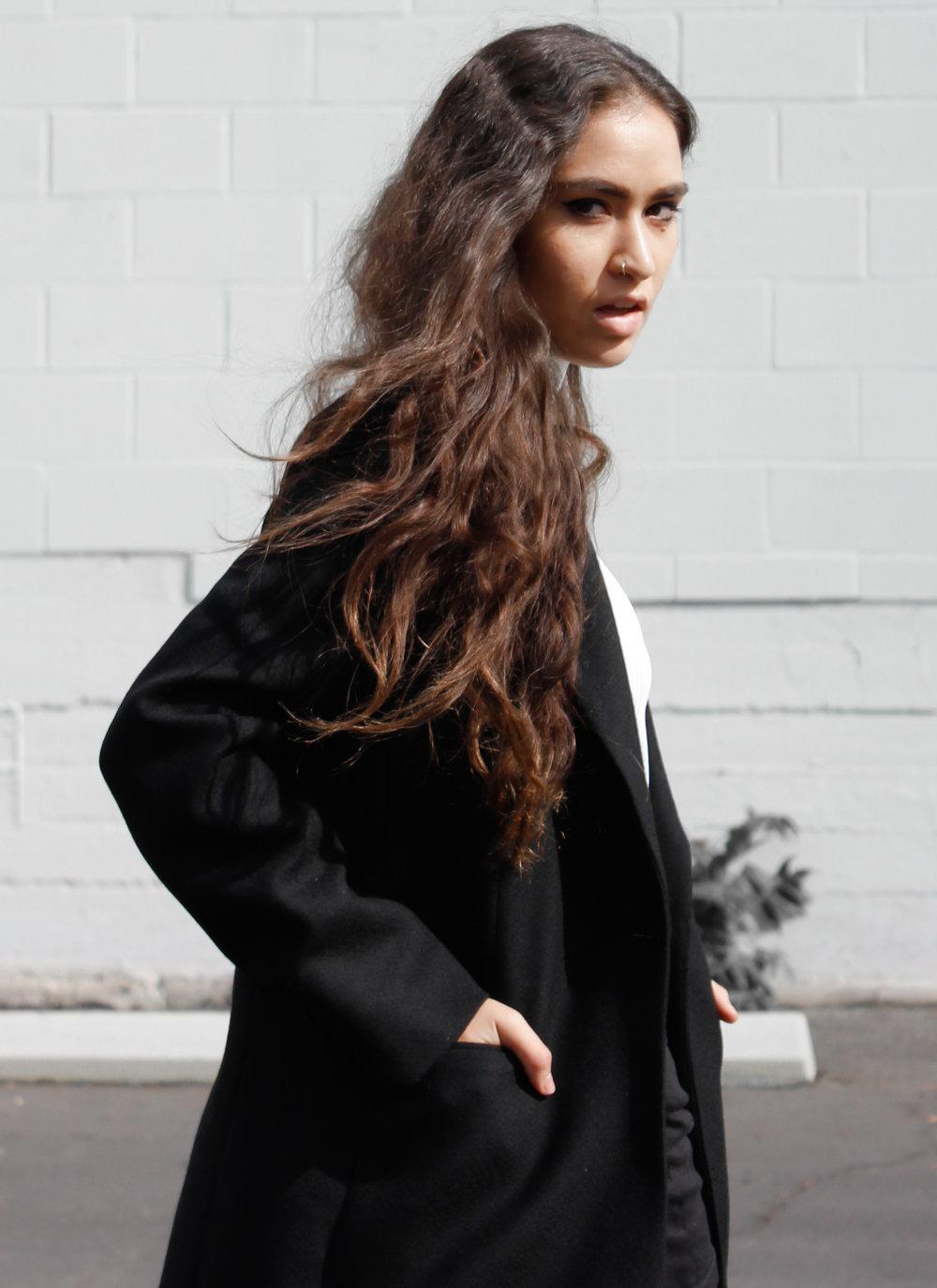caitlin_miyako_taylor_black_reformation_coat