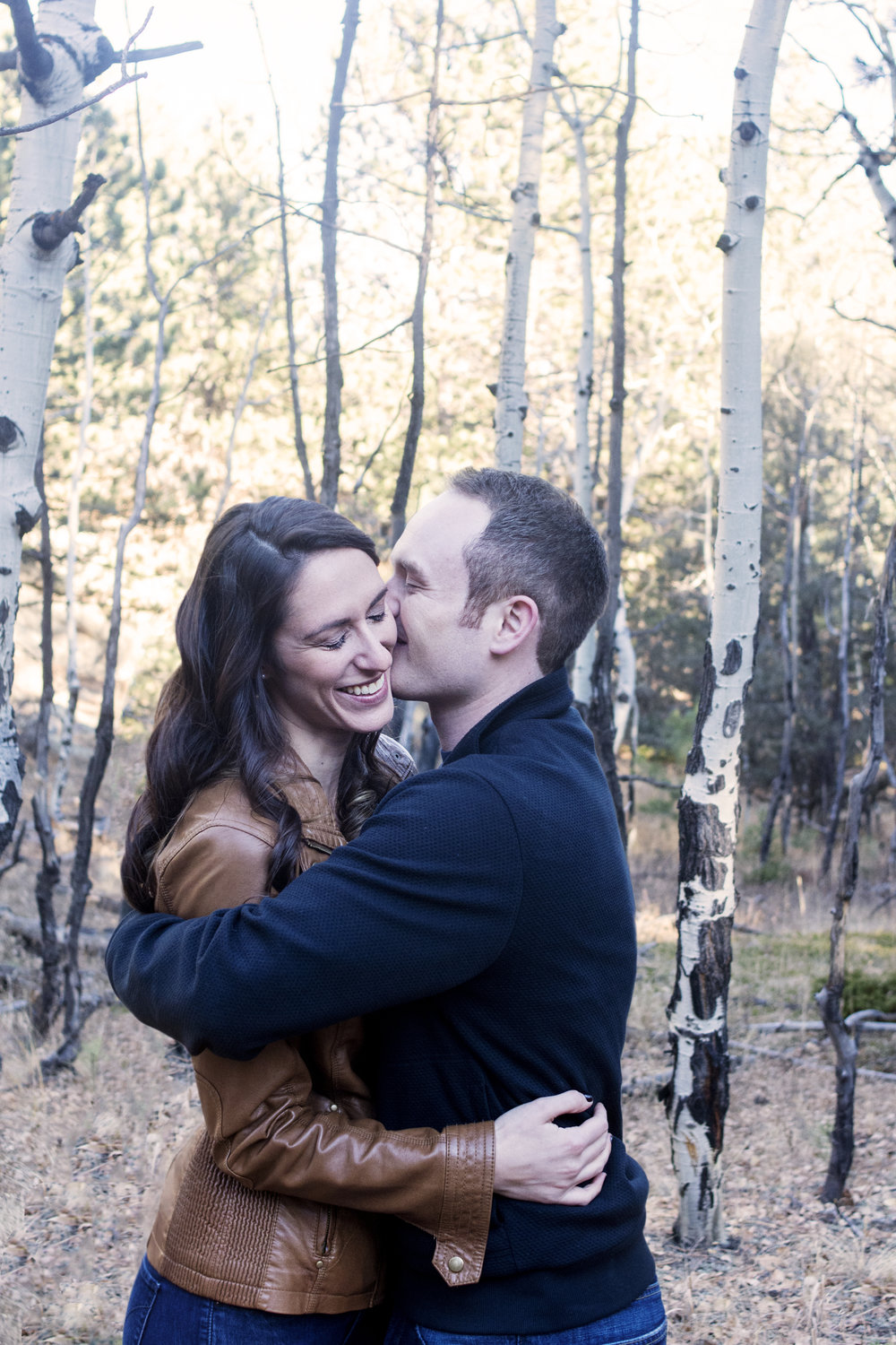Christine + Dan's Rocky Mountain Engagement