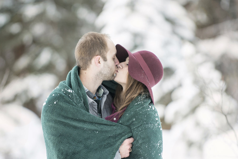 Chelsea + Wes's Engagement in Breckenridge, CO