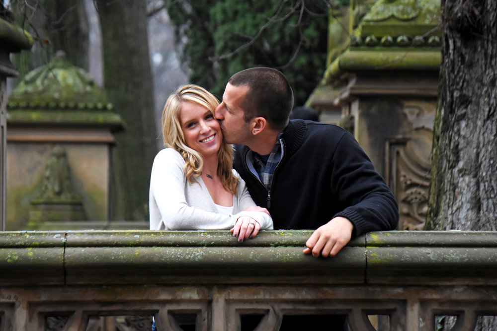 Samantha + Chase's Central Park NYC Engagement