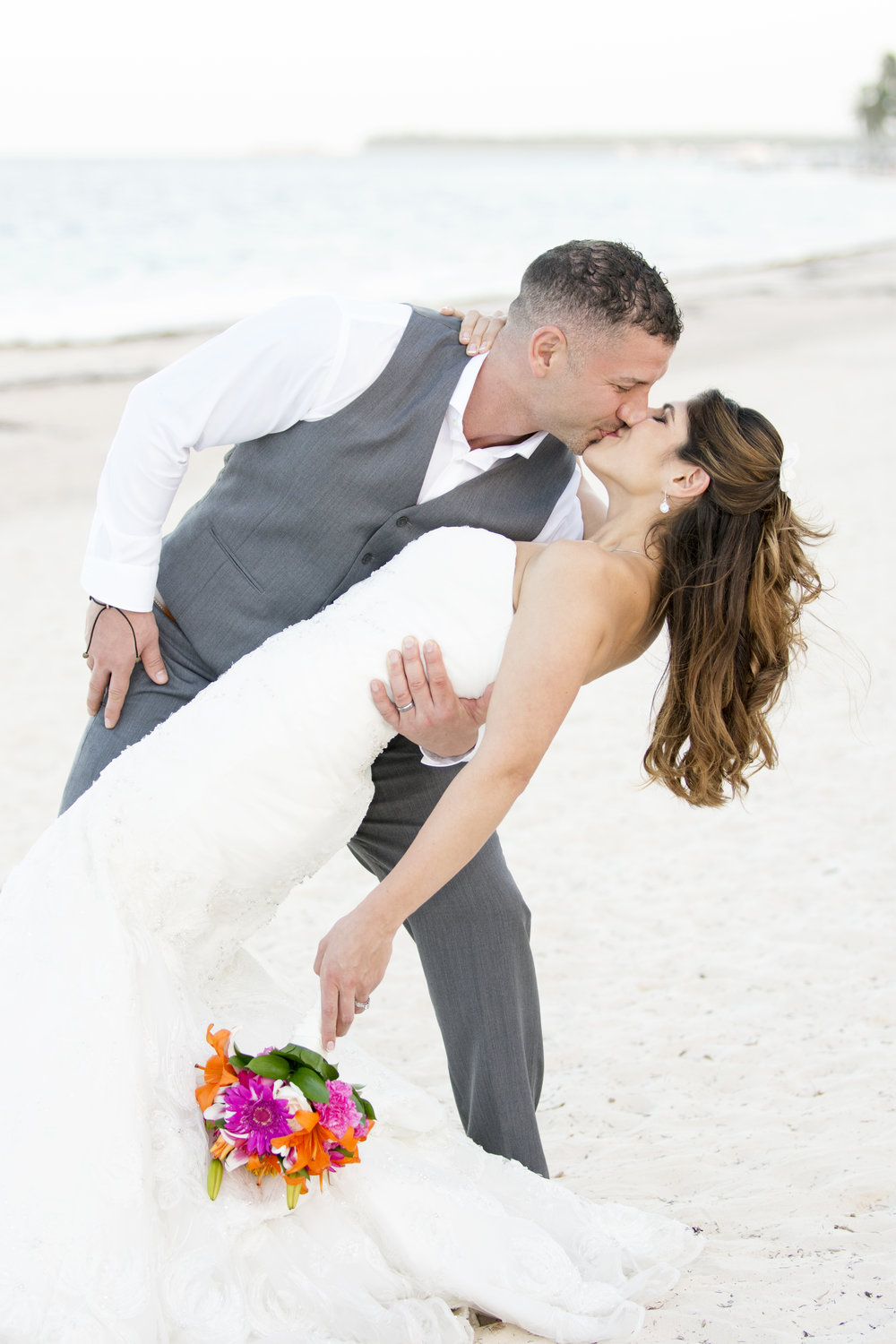 Andrea + Arash's Island Destination Wedding in the Dominican Republic