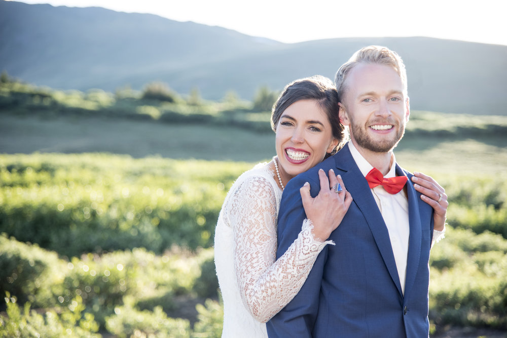 Emily + Ole's Campground Wedding at Guanella Pass, Colorado