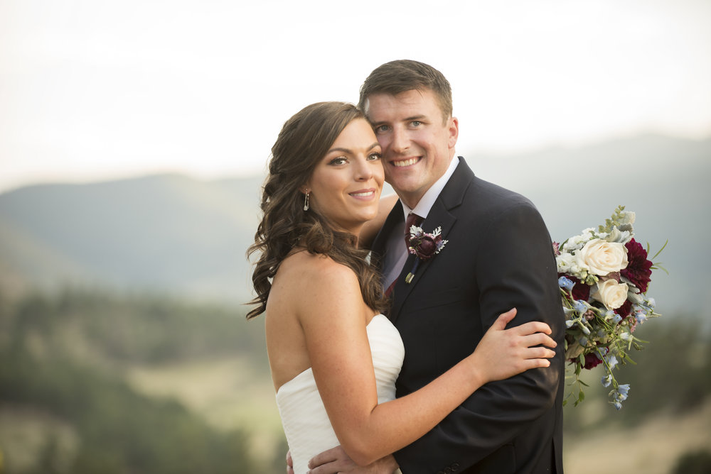 Renae & Marshall's Mountain Wedding