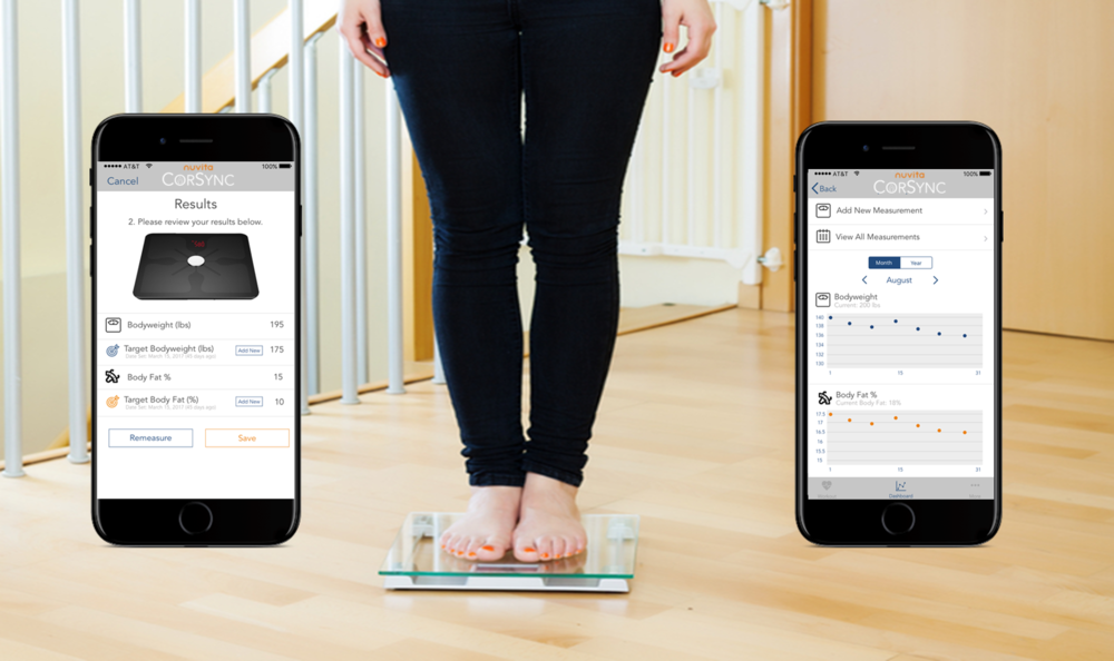People who track their weight are twice as likely to reach their goals. - With our body comp scales, we keep you on track and accountable, a sure way to reach your goals.