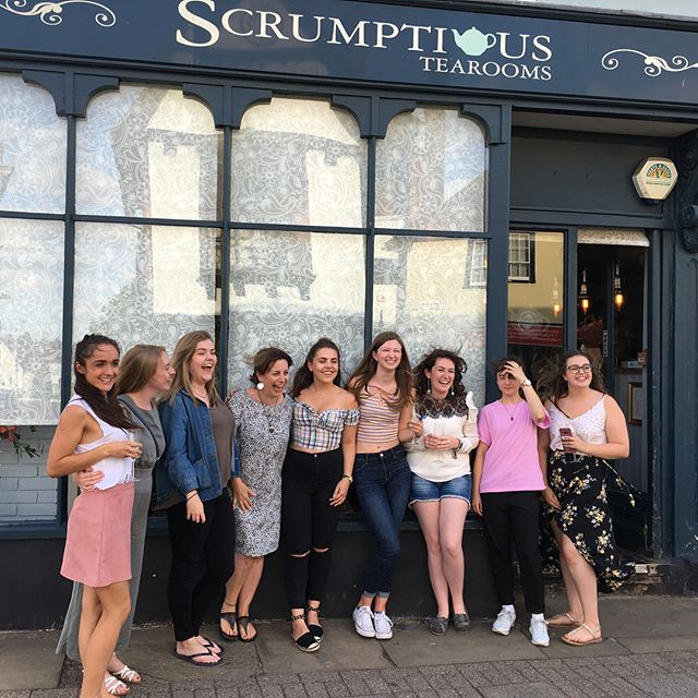 Wonderful evening shared with our amazing team, friends, family plus a few of our lovely customers... thank you all for making our final day so special 😘 we couldn't have asked for a better ending for our 6 years of trading 🤗 #awardwinning #greatdunmow #essex #tearooms #bestcustomers #bestteam #bestfamily