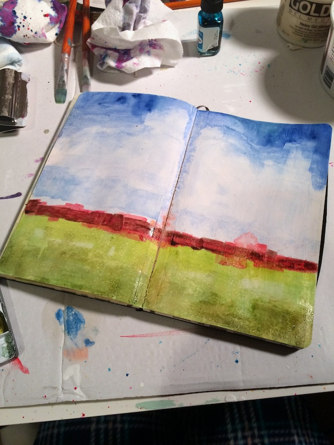 water_color_golden_absorbent_ground_art_journal