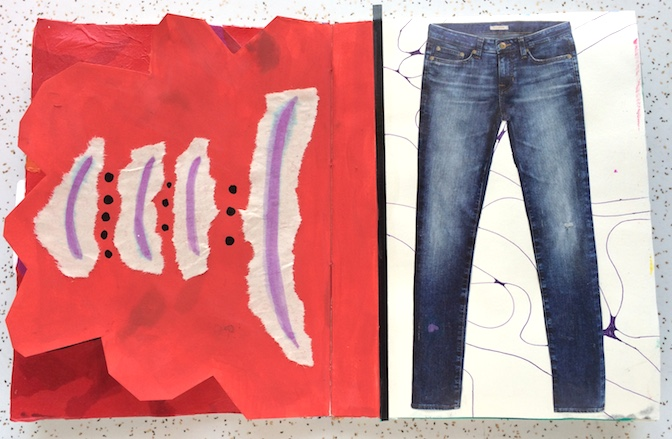 simple_jeans_collage_art_journal