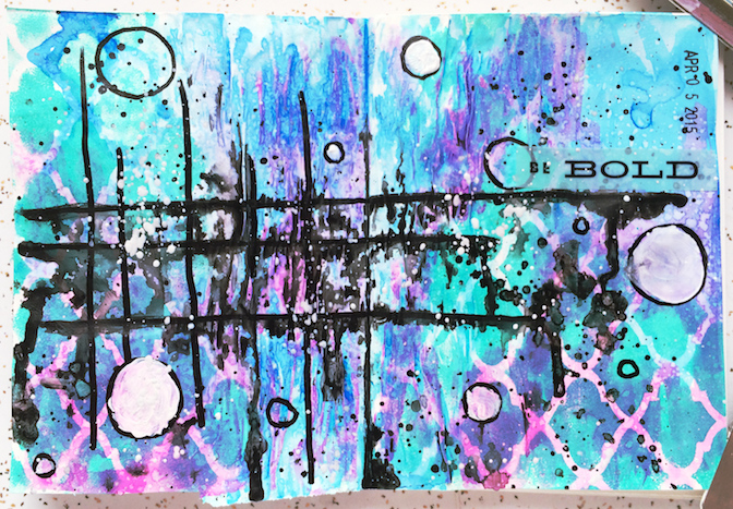 art_journal_be_bold_kenzie_woods_art_3