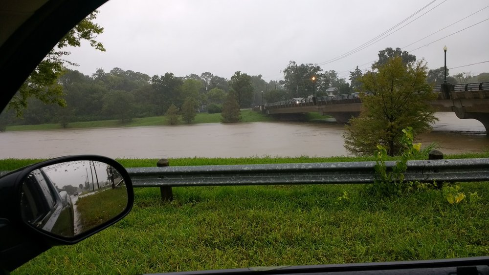 Flooding at Sims Bayou