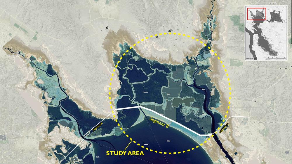 Study Area : Building Baylands Resilience, San Pablo Bay