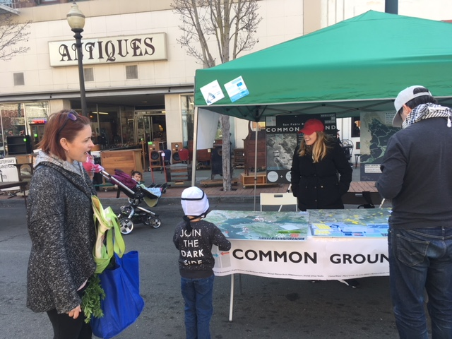Team with the community at Downtown Vallejo Farmer's Market