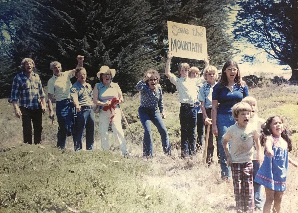 CommitteetoSaveSanBrunoMt.1970protest.SBMW.jpg