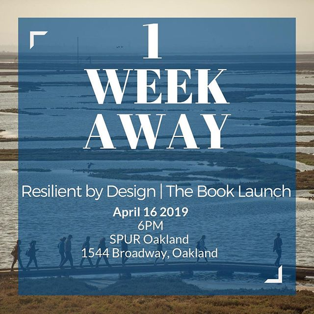 Join us next week at SPUR Oakland to celebrate the Resilient by Design projects and teams, one year later! #resilientbay