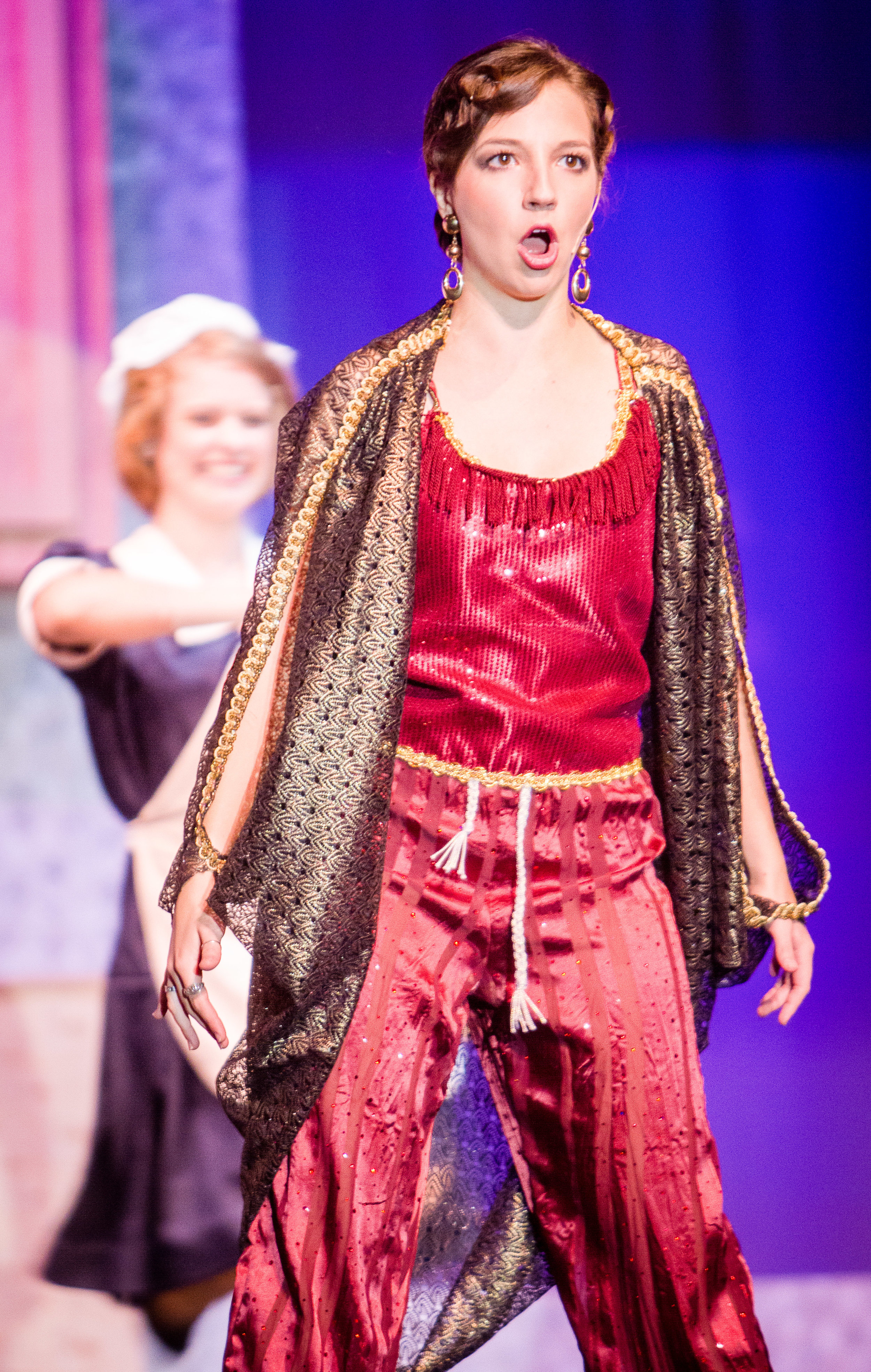 Senior Sarah Nadreau as the Drowsy Chaperone. Janik Emmendorfer | Photographer