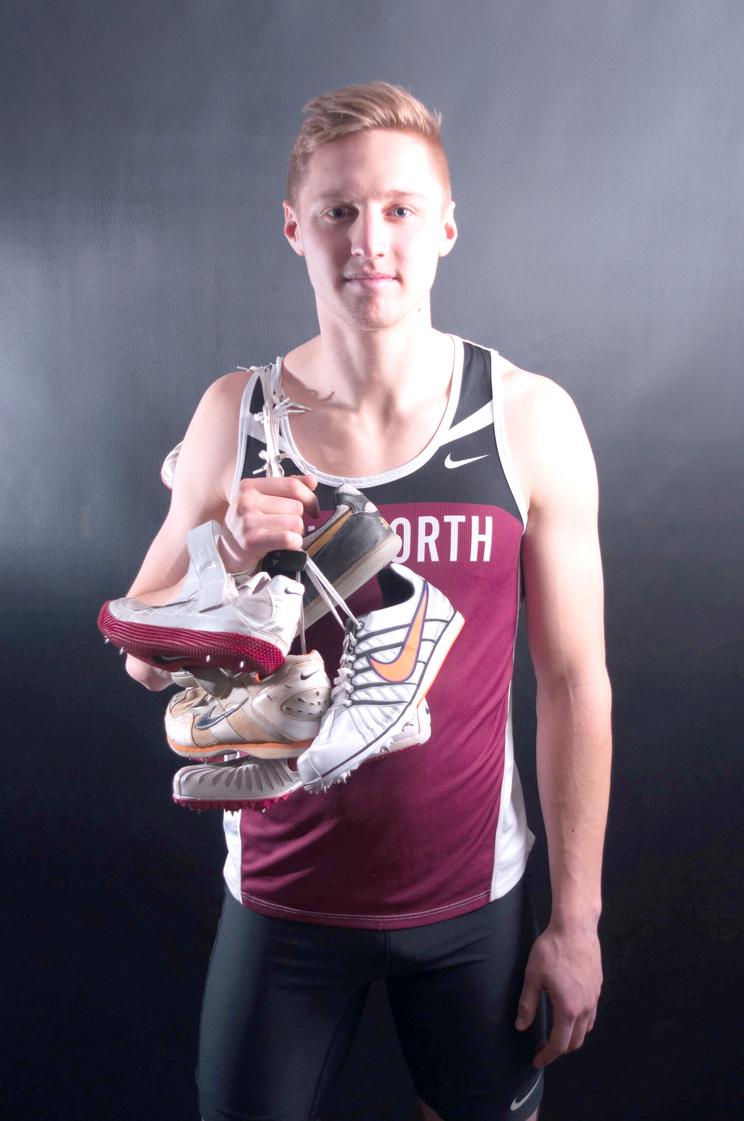 Senior Peter Delap hopes to lead his team to a fifth consecutive NWC conference title this season.Joseph Parker|Photographer