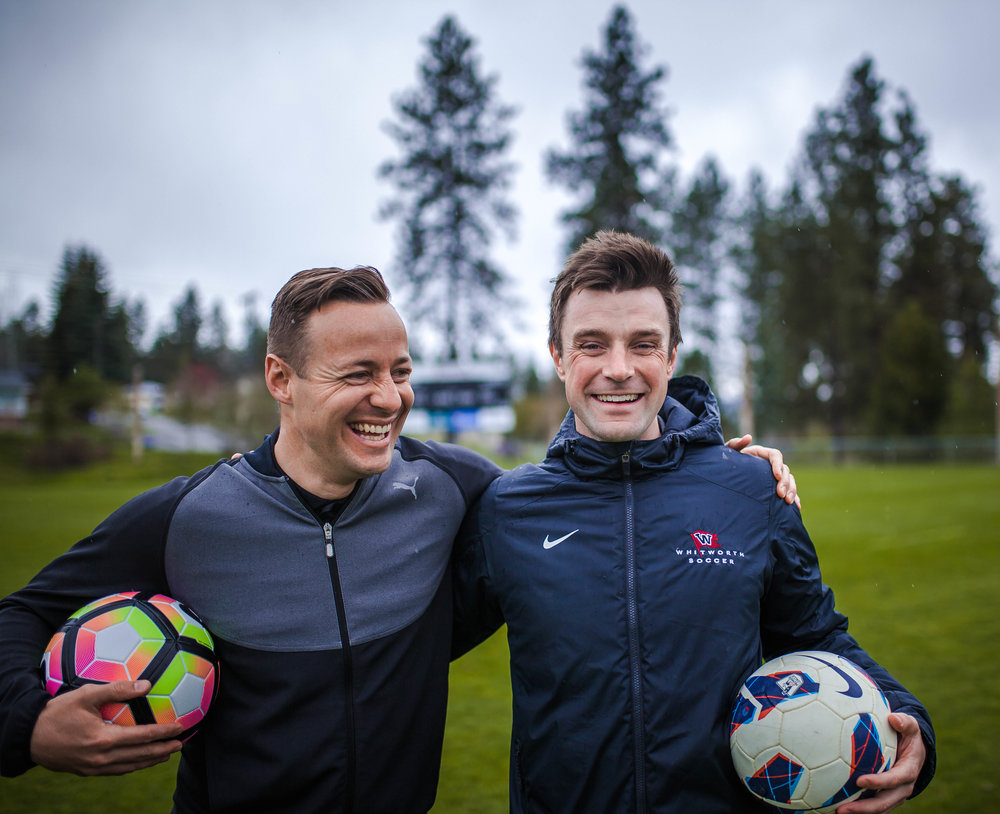 Cathey and Olson's teams play similar styles of soccer and experienced similar success. Both teams finished last season with winning records and the men won the Northwest Conference title (Domenica Cooke-Tassone | Photographer).