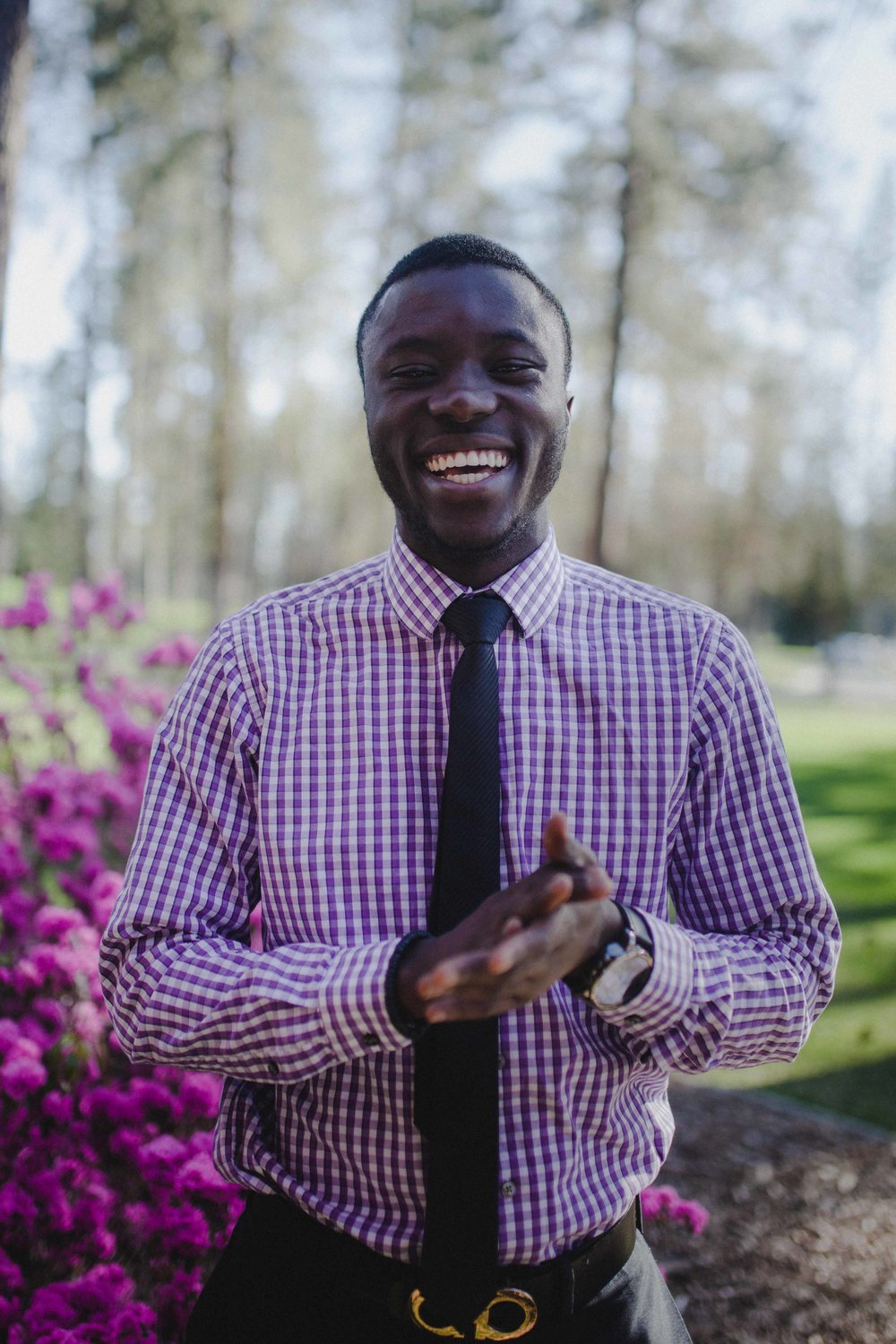 EVP-elect Andrews Boateng hopes to make ASWU a more transparent organization.