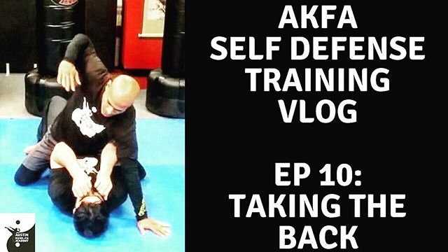 This week on our YouTube channel, we'll teach you how to take your attacker to the ground, do some ground-n-pound, take their back, and submit them! Hope you like!