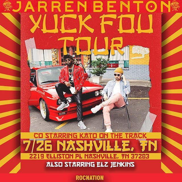 Yuck Fou Tour Nashville RAPS™️.
